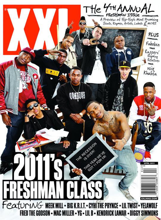 xxl freshmen 2011. XXL#39;s 2011 Freshman
